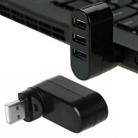 3Port USB 2.0 High Speed Multi HUB Splitter Expansion Desktop PC Laptop Adapter