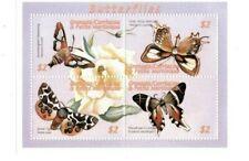 Grenadines 2001  -  Butterflies   - Block of four   - MNH