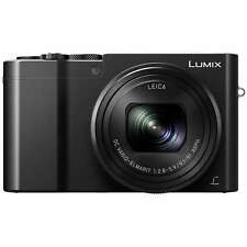 Panasonic Lumix DMC-TZ100EBK High Performance Compact Digital Camera - Black