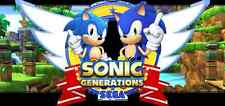 Sonic Generations || PC || 2011 || Key Card || Brand New ||
