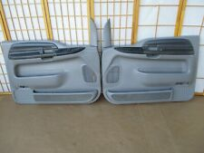 99-07 Ford F250 F350 Pickup Truck Excursion LEFT RIGHT GRAY Power Door Panel Set