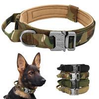 Dauerhaft Hundehalsband Taktisches Hundehalsband mit Schwerlast Metallschnalle