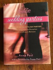 BN HC DJ Emily Post's Wedding Parties Anna Post Free Shipping