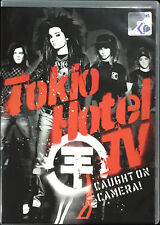 TOKIO HOTEL TV Caught On Camera 2008 MALAYSIA Edition DVD RARE NEW FREE SHIPMENT
