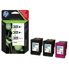 MULTIPACK 3 CARTUCHOS HP - 2 X Nº301 NEGRO + 1 X Nº301 COLOR
