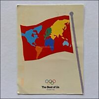 The Best of Us International Olympic Committee 2010 Postcard (P432)