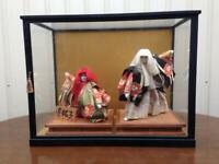 Japanese tradition Vintage Kabuki doll figure kimono Very rare F/S from japan m