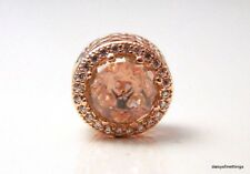 AUTHENTIC PANDORA ROSE COLLECTION RADIANT HEARTS PINK #781725NBP  HINGED BOX