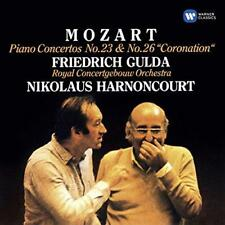 Mozart : Piano Concertos Nos 23 & 26, 'Coronation' - Friedrich Gulda, N (NEW CD)