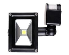10W 12V Outdoor LED Flood Light Induction Infrared Motion Sensor White New