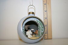 Hallmark Ornament - Blessings of Love - Nativity - Panorama Ball - 1990