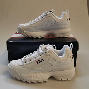 Fila Sneaker Turnschuh Disruptor Low Weiß Damen Gr. 37 (1010302.1FG)