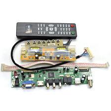 LCD TV Controller Driver Board DIY Monitor Kit For Chi Mei M200O1-L01 1600x900