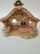 Vintage Pendelfin Schoolhouse Made in England Pre-owned No Box Quirky