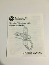 Southwestern Bell Freedom Phone Owner's Manual