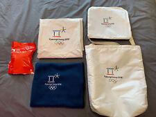 2018 PyeongChang Olympic Games   Opening Ceremony Kit Bag, Seat Cushion, Blanket