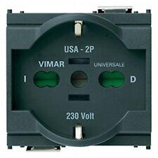 VIMAR IDEA 16210 - Presa 2P+T 16A universale grigio