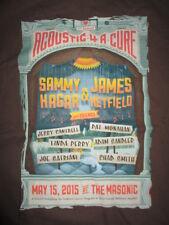 ACOUSTIC 4 A CURE Concert (XL) T-Shirt SAMMY HAGAR JAMES HETFIELD JERRY CANTRELL