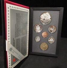 1996 Canada Proof Double Dollar Set - 7 Coin Set - Original Packaging/Paperwork