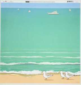 "Sugartree 12 x 12"" 2 sheets scrapbooking paper - Seagull beach - Single sided"