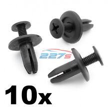 10x 6mm Plastic Trim Clips-idéntica a Honda 90683-SA5-003