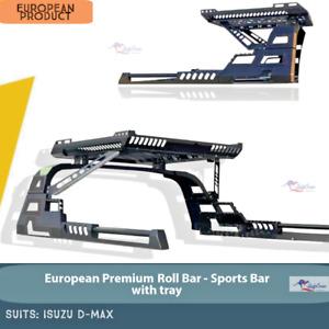 D-MAX Sports Bar -Sports Bar with Tray for ISUZU D-MAX