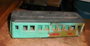 Vintage IVES #610 Standard Gauge Train Set Pullman Passenger Car  PROJECT