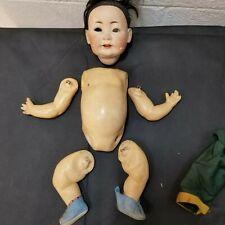 Vintage Antique German Composition Bent Knee Arm Baby Doll Body Parts Repair