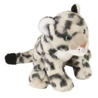 "8"" Baby Snow Leopard Soft Toy - Wild Republic Mini Europe 20cm Ck Cuddlekins 8"