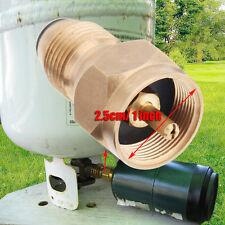 1 LB Propane Refill Adapter Cylinder LP Gas Tank Coupler Camping Hunt