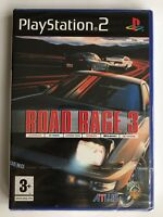PS2 Road Rage 3 (2004), UK Pal, Brand New & Sony Factory Sealed