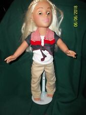 """Madame Alexander 18"""" Doll with braids/blue eyes Great Cond. Orig. outfit./Blonde"""