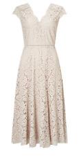 Jacques Vert Lace Godet Dress Size 18 Ls076 BB 04