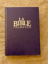 French Bible, Thompson Chain Reference, Colombe, Revised Segond, Thumb Index
