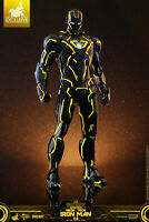 Hot Toys 1/6 Iron Man 2 Mark 6 Neon Tech Yellow Version EXCLUSIVE From Japan F/S