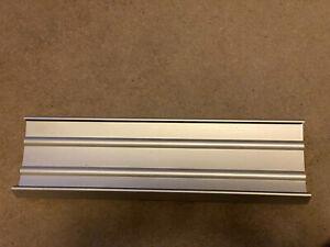 Aluminum Designer CD Wall Display / Rack / Holder for 50 CD's
