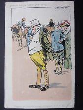 Dublin Horse Show Sketches - Art by G. Fagan c1903 by B.& N. Ltd of Dublin