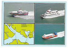 Flights across The Solent, Hovercraft, Hydrofoil, Sealink Ctamaran, Unposted