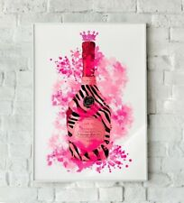 Pink Champagne Print, Champagne Art, Champagne wall art