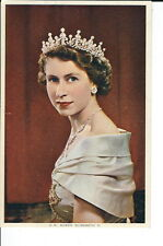 AS-073 - Young Queen Elizabeth II  Postcard, J. Arthur Dixon United Kingdom Vtg