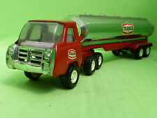 TONKA ( made in japan ) TRUCK + TANKTRAILER - TEXACO - IN GOOD CONDITION