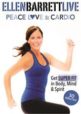 ELLEN BARRETT LIVE PEACE LOVE AND CARDIO WORKOUT DVD NEW SEALED EXERCISE