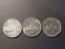 "Teaching Set - 1968 nickel dollar ""doubled reverse"" variety lot - Mdd, Ddr, Xwl"