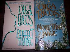 Olga Bicos lot More Than Magic & Perfect Timing Historical Contemporary Romance