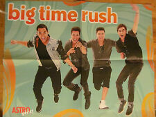 Big Time Rush, Selena Gomez, Double Sided Four Page Foldout Poster