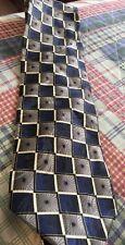 Valerio Garati Men's Necktie Designer Geometric Squares Sunburst