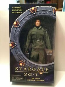"STARGATE SG1 COLONEL CAMERON MITCHELL 12"" ACTION FIGURE."