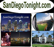 San Diego Tonight .com What's Up in Downtown Gas Lamp Domain Name For Sale