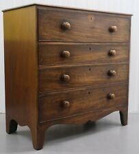 19TH CENTURY MAHOGANY SECRETAIRE CHEST OF DRAWERS WITH REVEALING FITTED INTERIOR