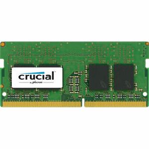 8GB Crucial DDR4 SO-DIMM 2400MHz PC4-19200 CL17 1.2V Memory Module (1 x 8GB)